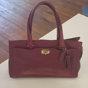 Coach Legacy Leather Chelsea Carryall Handbag